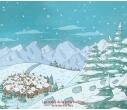 PRENOM et l'abominable bonhomme de neige