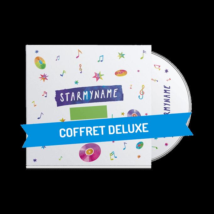 Le coffret Deluxe Starmyname pour PRENOM