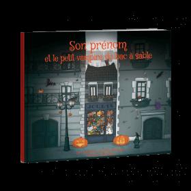 PRENOM et le Petit Vampire du Bac à Sable