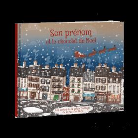 PRENOM et le chocolat de Noël
