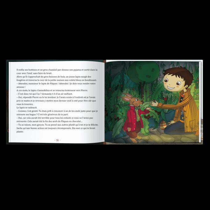 L'enfant est le personnage du livre