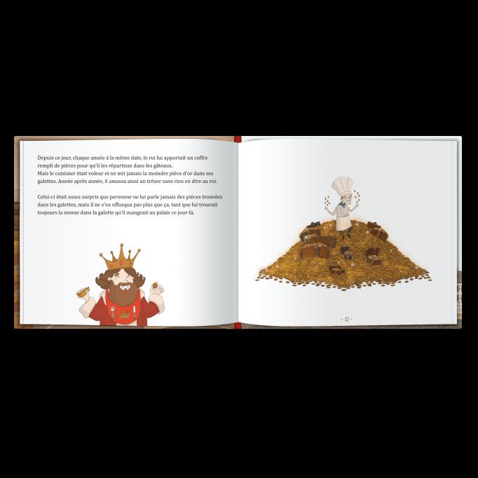 PRENOM et la fève de la galette des rois