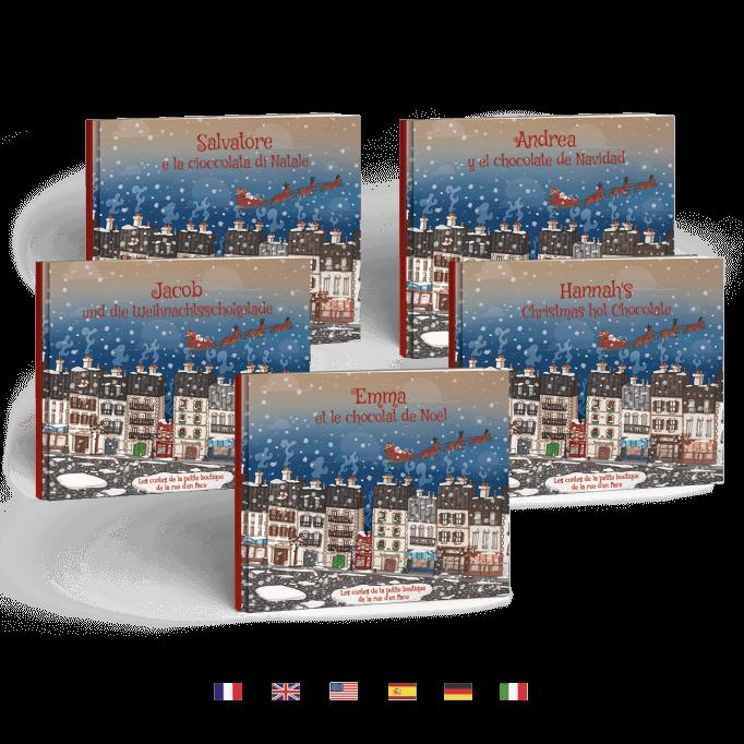 Livre anglais francais espagnol italien allemand