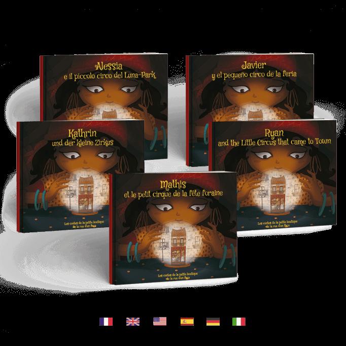 livre francais anglais espagnol italien allemand