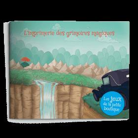 Carnet de jeux - L'imprimerie des grimoires magiques
