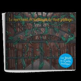 Carnet de jeux - Le marchand de sortilèges du vieux passage