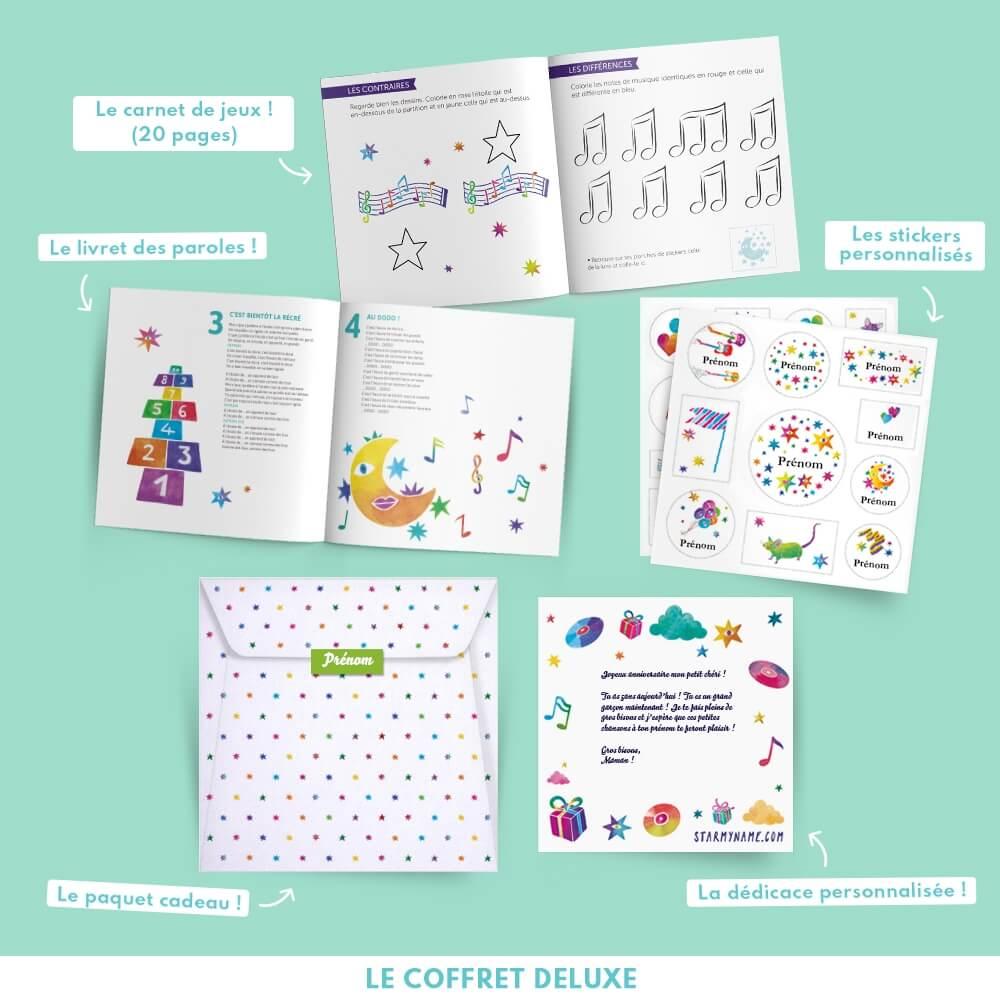 Un cadeau original et personnalisé pour les enfants - Le coffret ... b13078ca32b