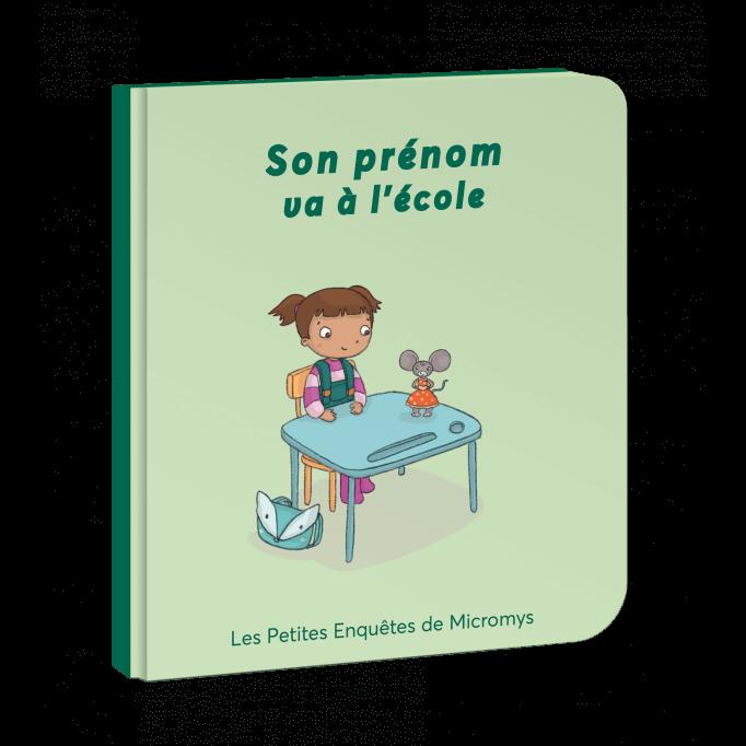 PRENOM va à l'école