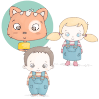 Les petites histoires de Mistigri au prénom de votre enfant