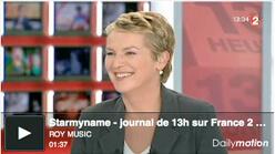 Starmyname - Journal de 13h sur France 2
