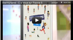 Starmyname - C a Vous sur France 5